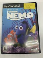 Finding Nemo (PlayStation 2, 2003) PS2 Game Disney Pixar Dory Complete Tested
