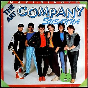 "The Art Company - Susanna - Spain MAXI SINGLE 12"" CBS 1984 - CBS A 12.4174"
