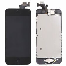 Replacement Black iPhone5 LCD Digitizer Touch Screen+Camera+HomeButton Assembly