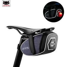 Cateye Cycling Bag Bike Saddle Bag Storage Bicycle Seat Pouch Rear Tail Tool Bag