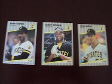 1989 FLEER PITTSBURGH PIRATES TEAM SET (25 CARDS) BARRY BONDS JOHN SMILEY