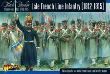 LATE FRENCH LINE INFANTRY -WARLORD GAMES  - BLACK POWDER - 28 MINIATURES-