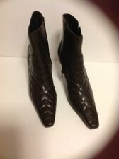 MODA BROWN ANKLE BOOTS SIZE 6M NEW WITHOUT BOX