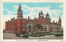 Oglethorpe Hotel in Brunswick GA Postcard