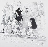 THE EXECUTIONER Frank Frazetta Vintage Art 1955 Comic Fantasy GGA Nude Gypsy