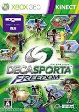 Used Xbox 360 Deca Sports Freedom MICROSOFT JAPAN JP JAPANESE JAPONAIS IMPORT
