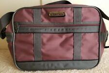 American Tourister Overnight Carry On Shoulder Bag Purple Small Luggage 15x10x5