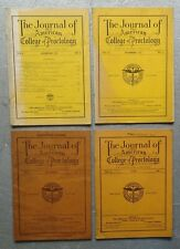 1933 Journal of the American College of Proctology (4 Issues) Los Angeles, Ca.