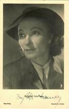Brigitte Horney Ross A 2961/1 signiert, Autogramm