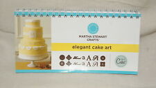 Cricut Cartridge BOOKLET ONLY - ELEGANT CAKE ART