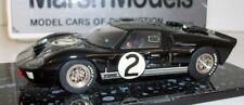 Marsh Models 1/43 Scale - MM4 1966 Ford GT40 Mk2 Le Mans