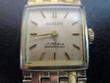 Avalon Armbanduhr alt Handaufzug soweit feststellbar funktioniert sie