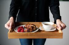 Serviertablett Serving Tray aus Bambus, 40cm x 28cm x 4.5cm , 580g