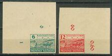 Alliierte Besetzung SBZ Provinz Sachsen 85 - 86 , ** , * , o ,