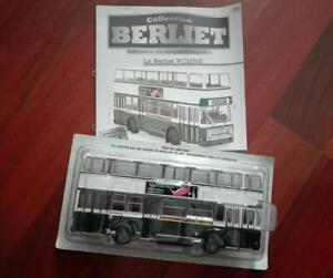 BERLIET  PCMRE  BUS  RATP  1966     IXO  MODEL   1/43