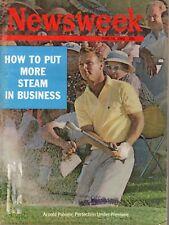 1962 (June 18) Newsweek magazine, Arnold Palmer, Perfection Under Pressure~ Fair