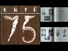 CATALOGUE ERTE 1986 -ART DECO, ILLUSTRATION, DECOR THEATRE, BOULOGNE BILLANCOURT
