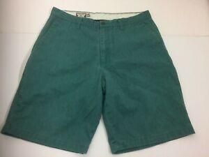 Volcom Genuine Mens Cargo Shorts Color Green - Size 36