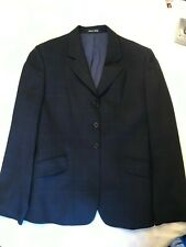 Tailored Sportsman Girls English Show Riding Jacket/Coat Blue  Made in Italy