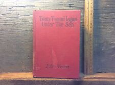 Antiquarian Or Vintage Book Twenty Thousands Leagues Under The Sea, Jules Verne