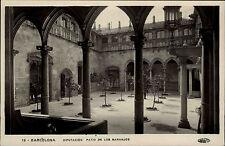 Barcelona Spanien alte s/w AK ~1920/30 Diputacion Patio de los Naranjos Innenhof