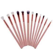 12 Stück Damen Brushes Eyebrow Make-up Pinsel Schminkpinsel Blusher Augenbraun