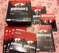 Wolfenstein II 2 Promotional Promo Kit / Bethesda / Unused Complete Rare HTF