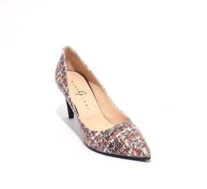 Gibellieri 3367c Multicolor Leather / Classics Pointy Heel Pumps 36 / US 6