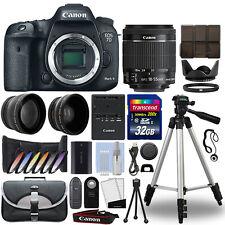 Canon 7D Mark II DSLR Camera + 18-55mm IS STM 3 Lens Kit + 32GB Best Value Kit