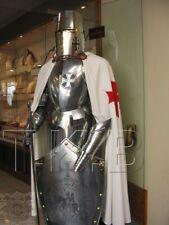 Medieval Knight Suit Of Templar Armor W Sword Combat Full Body Armour