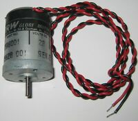 TRW Globe 405A 6000 RPM Motor - 28 V DC - Permanent Magnet - Made in USA