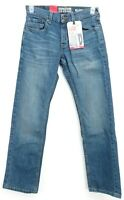 New Signature Levi Strauss Gold Mens Relaxed Stretch Blue Denim Jeans 29 x 32