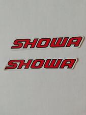 Sticker Aufkleber 2er Set Motorrad Hondatuning Autocross Racing Motorsport
