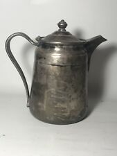Reed & Barton Silver Soldered 64 oz 2858 Coffee/Water Pitcher Pot Sheraton Hotel