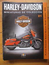 FASCICULE 21  MOTO COLECCION HARLEY DAVIDSON  FLHTCSE SCREAMING EAGLE 2004
