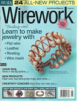 BEAD & BUTTON,  WIRE WORK  SPRING, 2014  ( 24 ALL NEW PROJECTS * LEARN TO MAKE