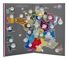 Série 10 euros argent des régions monuments  27 pièces  2011 collector MdP 2011