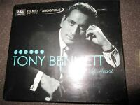 Tony Bennett The Beat of my Heart original AUDIOPHILE gold CD Philippines sealed