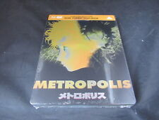 Blu Ray DVD Steelbook Metropolis Brand New Sealed