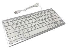 Mini tastiera bianca attacco usb per computer notebook windows mac  EK-920K