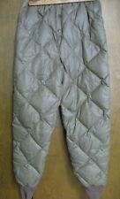 Vintage Eddie Bauer Down Insulation Quilted Puffer Snow Pants, S