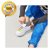 HICKIES Kids Elastic No-Tie Shoelaces For Boys And Girls Works In All Shoes...