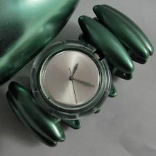 swatch special pop vintage neanda verde pmg104 orologio raro da collezione