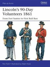 Men-At-Arms: Lincoln's 90-Day Volunteers 1861 : From Fort Sumter to First Bull …