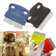 Pet Cat Dog Small Steel Fine Toothed Grooming Flea Comb Eggs Debris Removal Tool