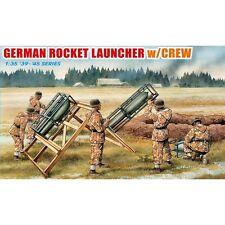 Dragon DRA6509 German Rocket Launcher with Crew 1/35 scale plastic model kit