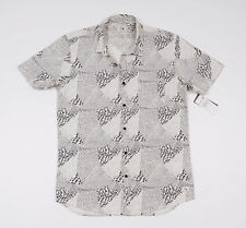 BNWT Quiksilver Men's short sleeved Casual Shirt Size Small