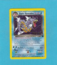 Pokemon Team Rocket Set - Dark Gyarados Holo Prerelease Promo # 8/82