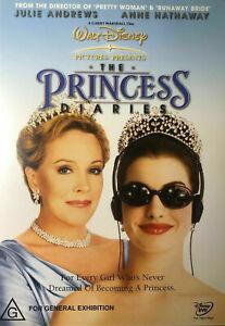 Princess Diaries DVD Julie Andrews Anne Hathaway REGION 4 AUSTRALIA