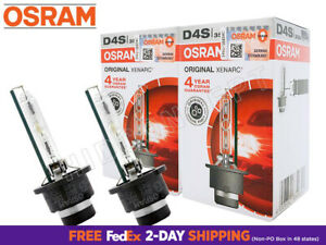OSRAM Xenarc D4S HID XENON Headlight Bulbs 4300K OEM 66440 DOT 35W | Pack of 2